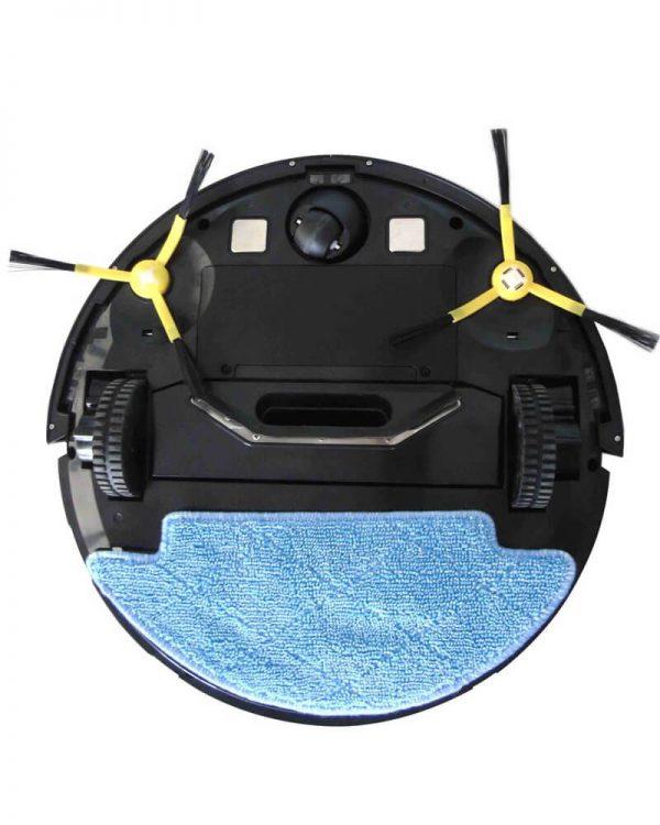 imass m1 robotstofzuiger zwart onderkant mop