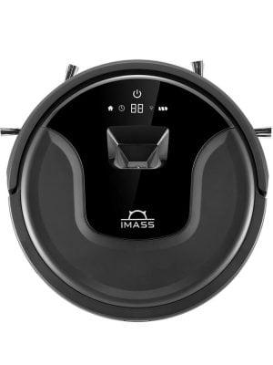 imass s3 zwart robotstofzuiger bovenkant