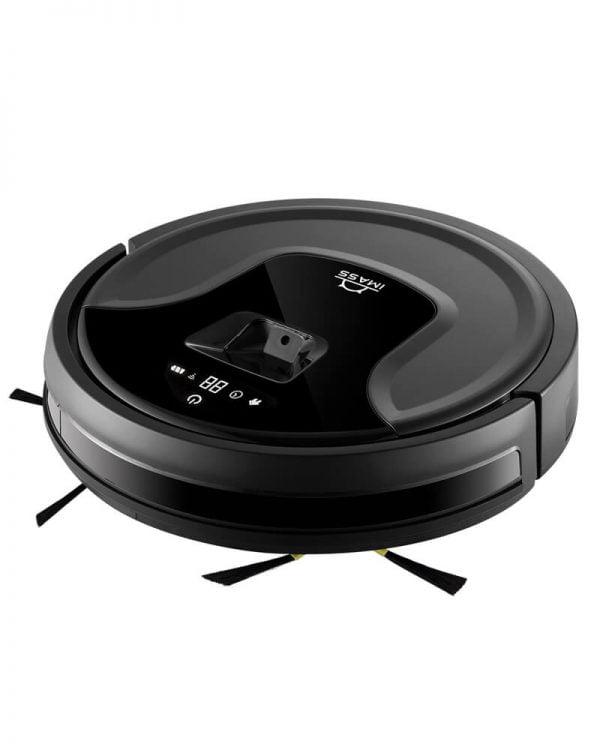 imass s3 zwart robotstofzuiger voorzijde