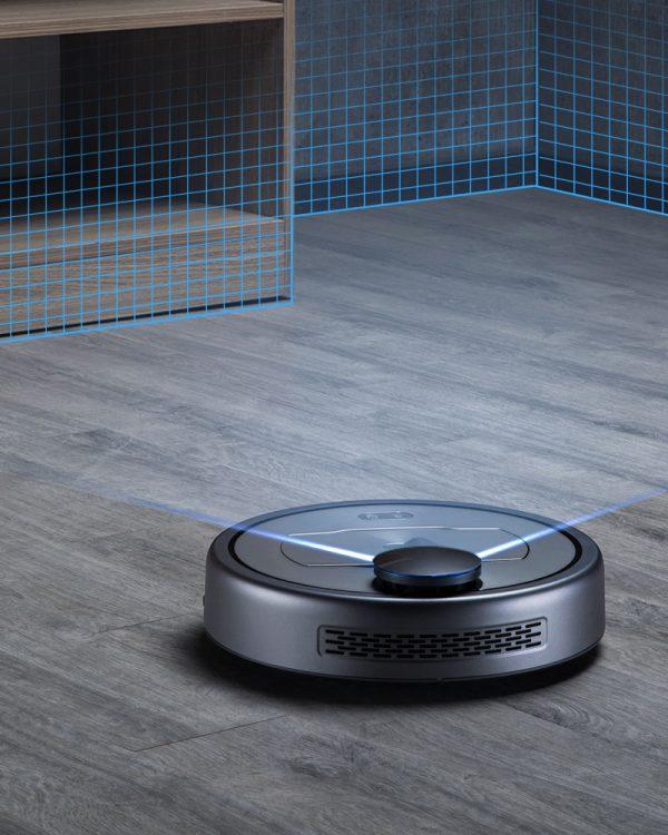 puppyoo r6 home robotstofzuiger nav scan