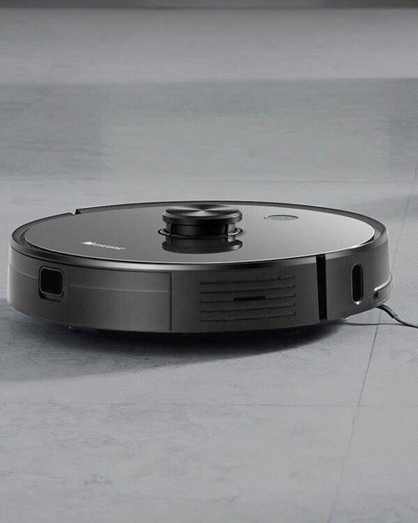 proscenic u6 grijs robotstofzuiger impressie