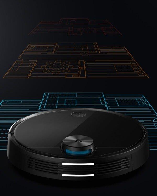 xiaomi viomi v3 robotstofzuiger multimap