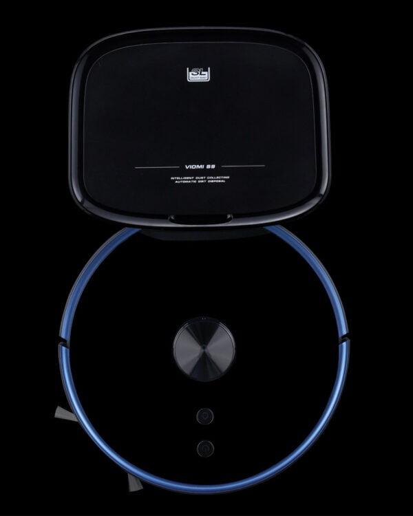xiaomi viomi s9 zwart robotstofzuiger bovenkant2