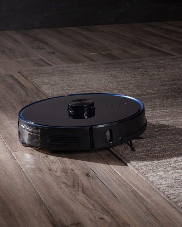 xiaomi viomi s9 zwart robotstofzuiger vloerkleed