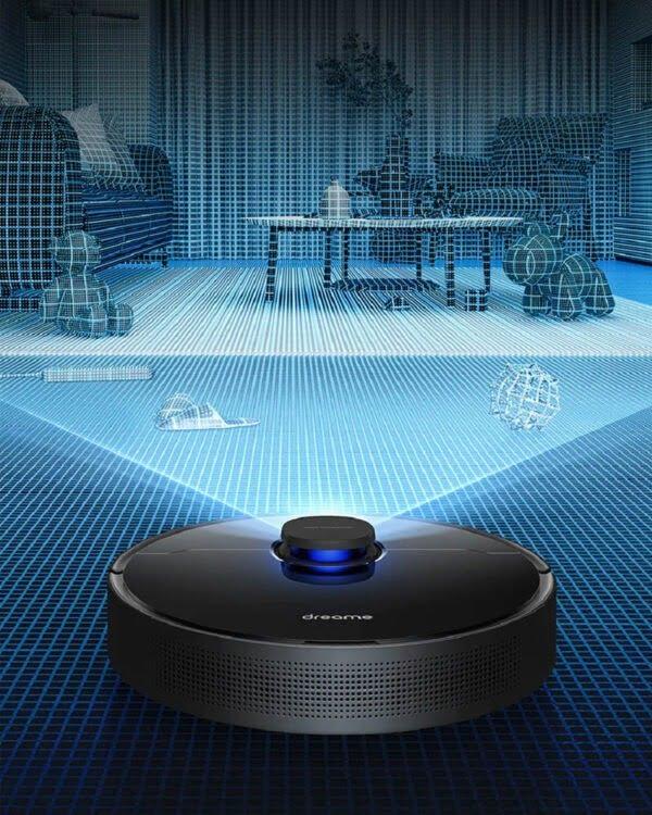 xiaomi dreame L10 pro zwart robotstofzuiger navigatie