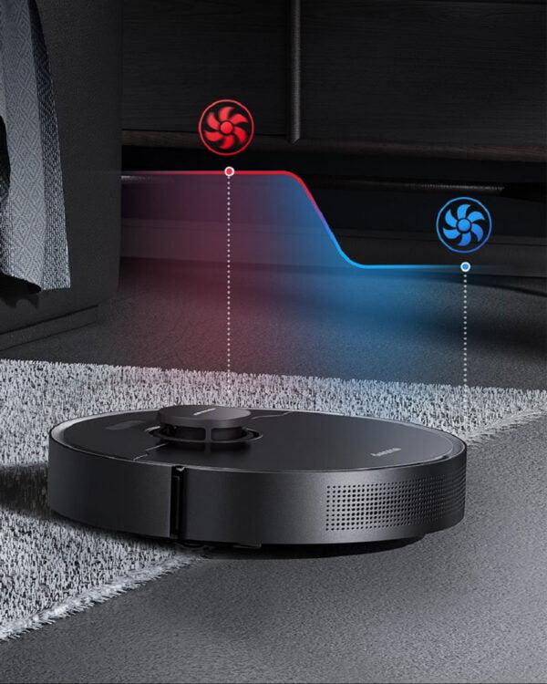 xiaomi dreame L10 pro zwart robotstofzuiger tapijtboost