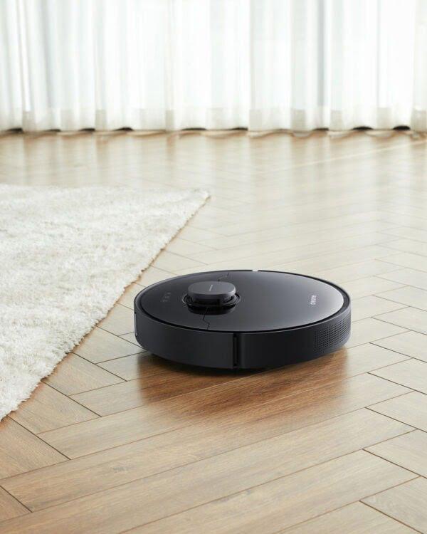 xiaomi dreame L10 pro zwart robotstofzuiger tapijt
