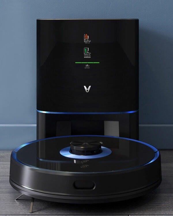 xiaomi viomi s9 uv zwart robotstofzuiger2
