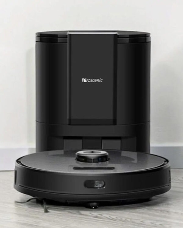 proscenic m8 pro zwart robotstofzuiger sfeer voorkant