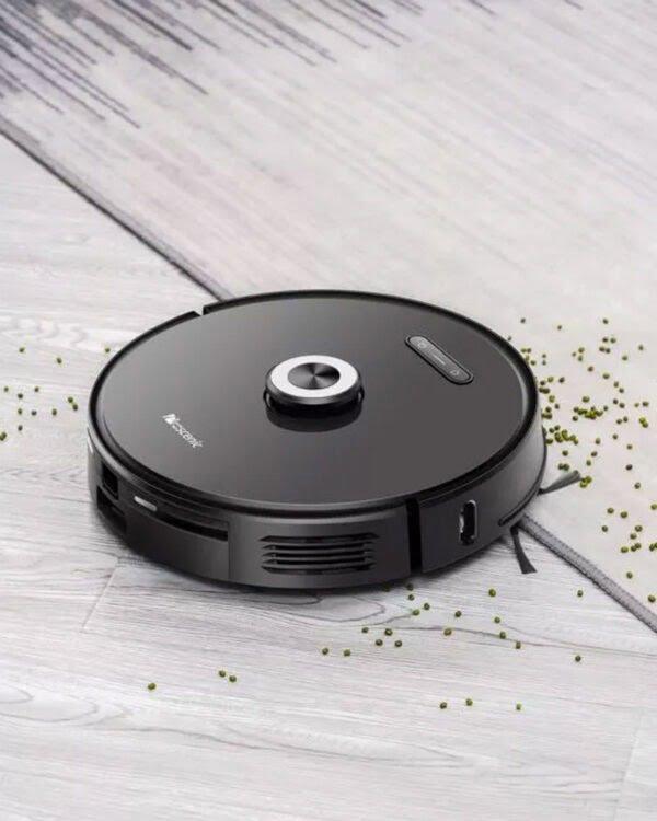 proscenic m8 pro zwart robotstofzuiger tapijt