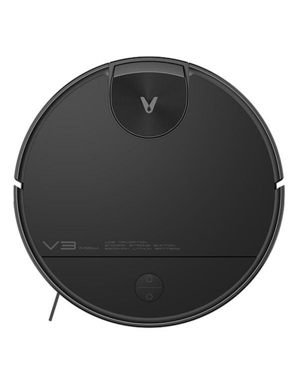 xiaomi viomi v3 max zwart-robotstofzuiger bovenkant