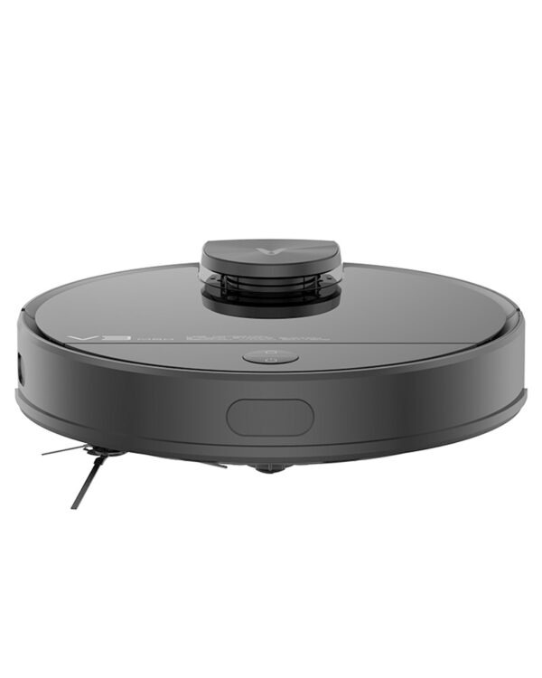 xiaomi viomi v3 max zwart-robotstofzuiger hoogte
