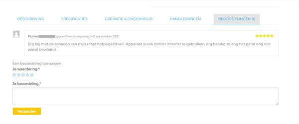product review beoordeling1