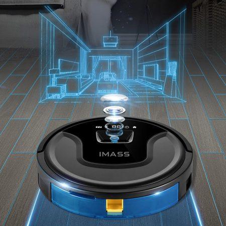 robotstofzuiger navigatie camera